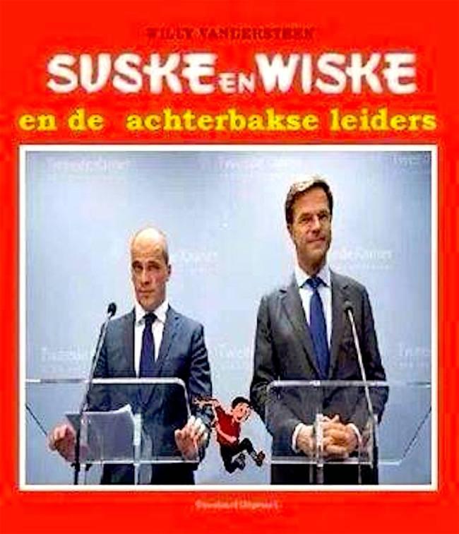 Suske en Wiske en de achterbaks leiders (foto De vergeetachtige vijftiger)