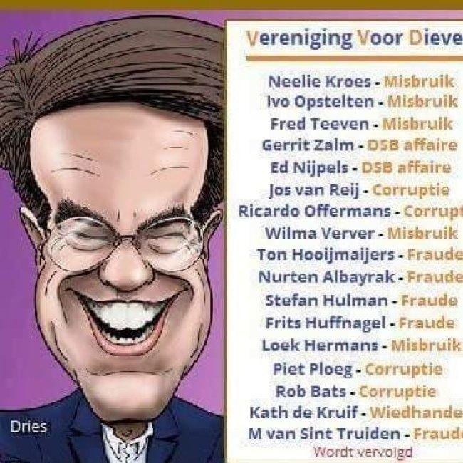 Vereniging Van Dieven (foto Volksnieuws uit Amsterdam Noir)