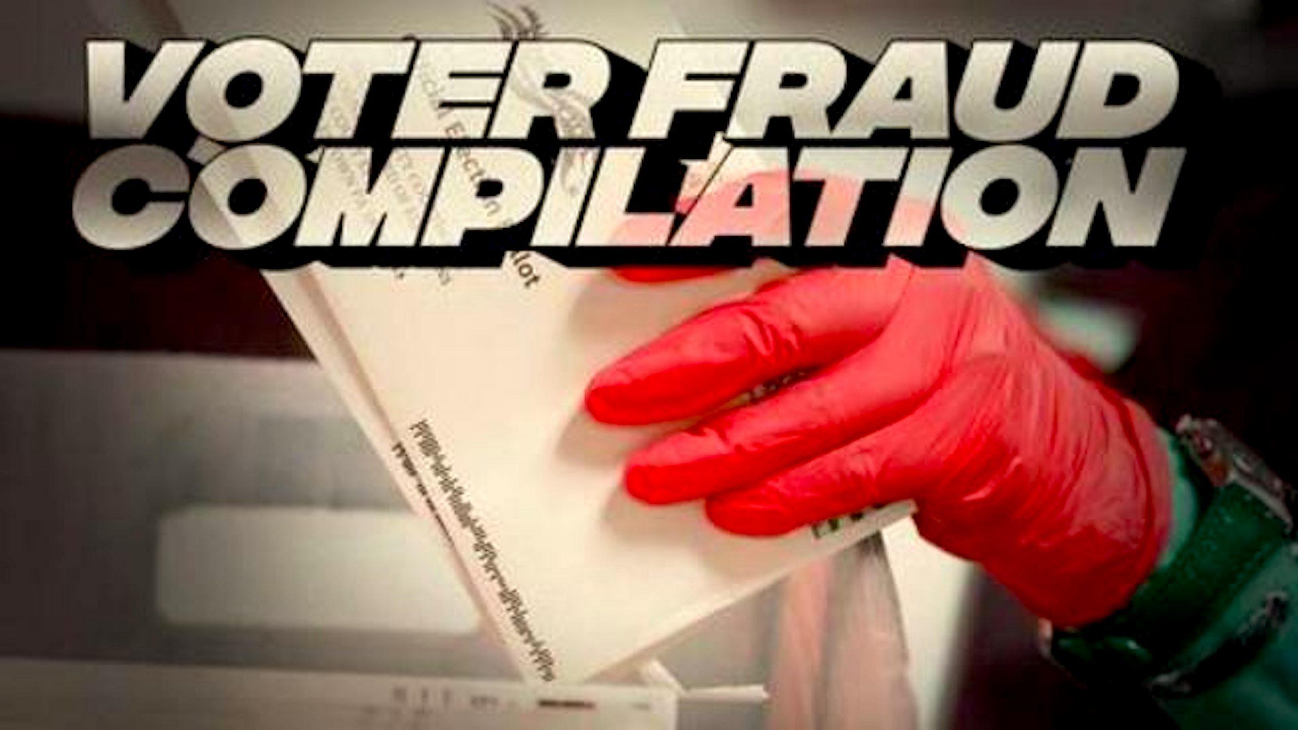 Epic Voter Fraud Compilation (foto Bitchute)