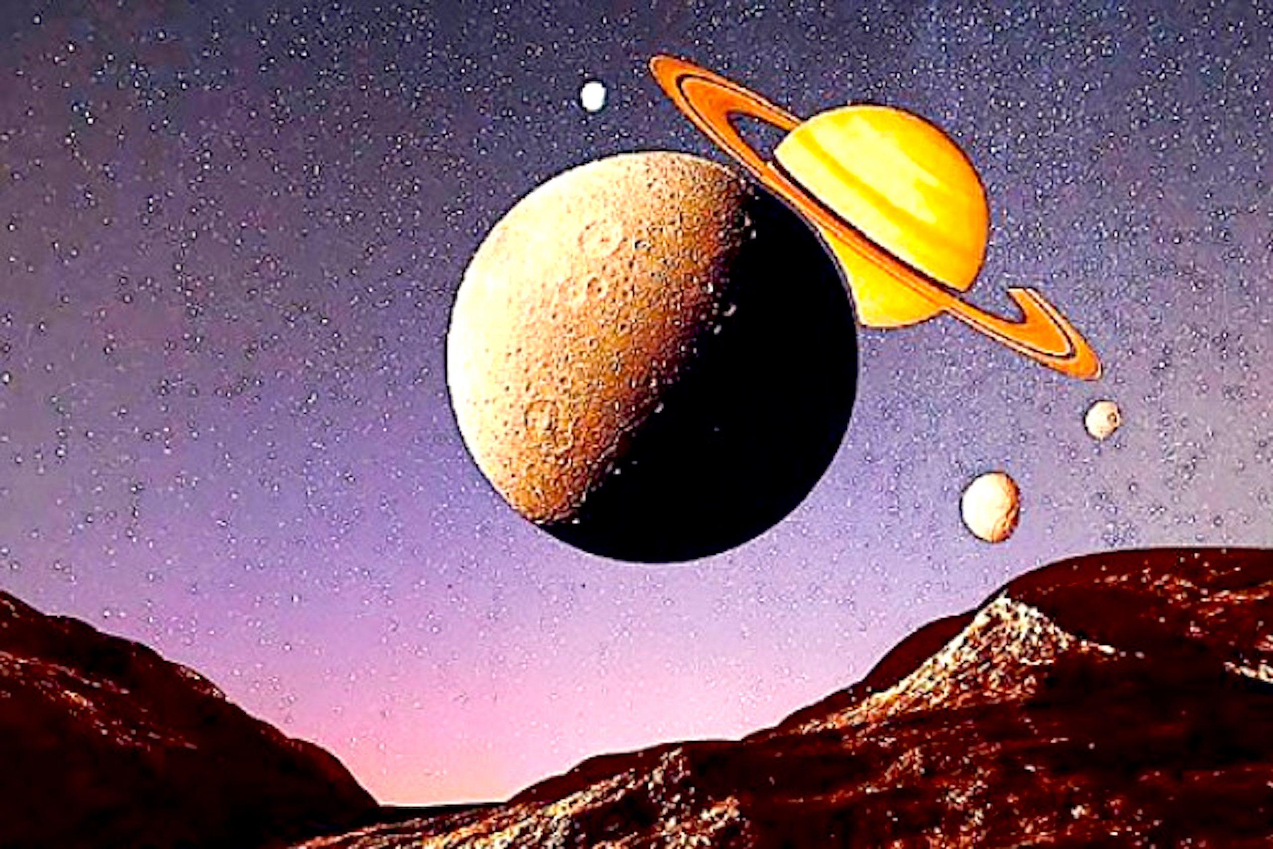Jupiter & Saturn (foto dtnext.in)