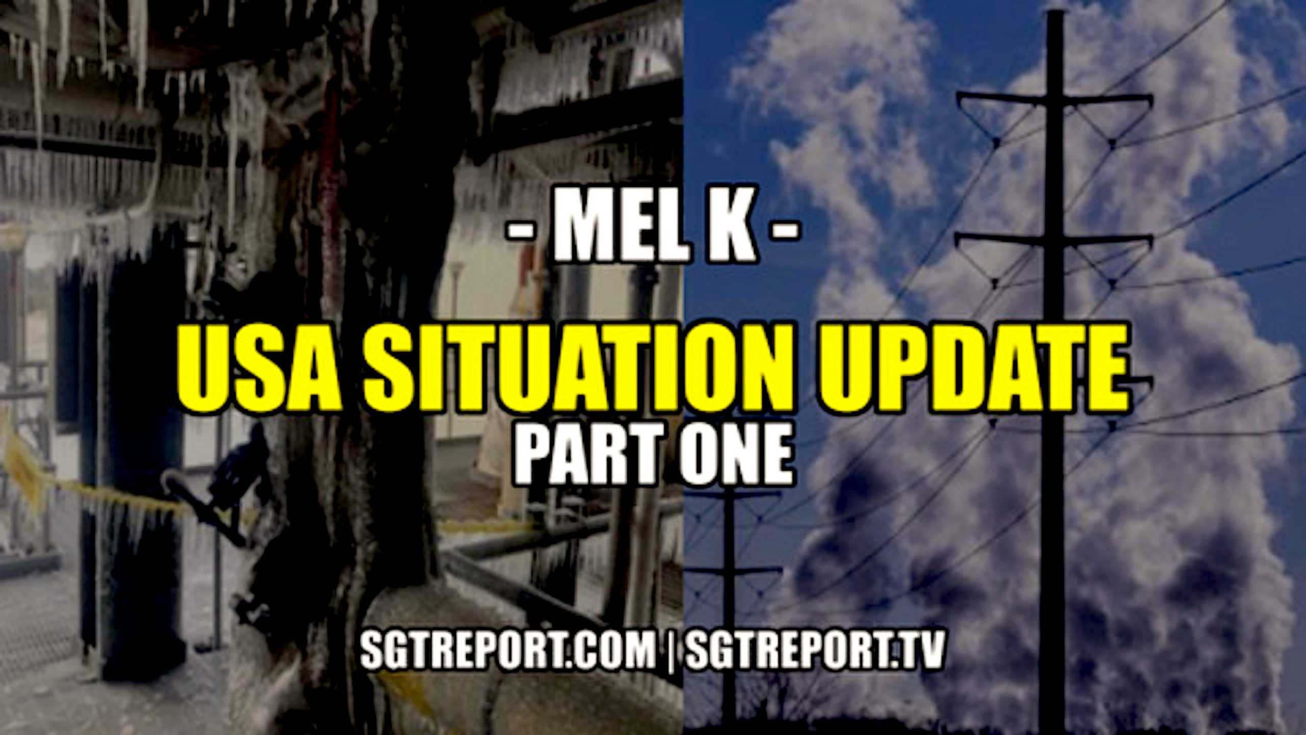 MEL K: USA SITUATION UPDATE (foto Bitchute)