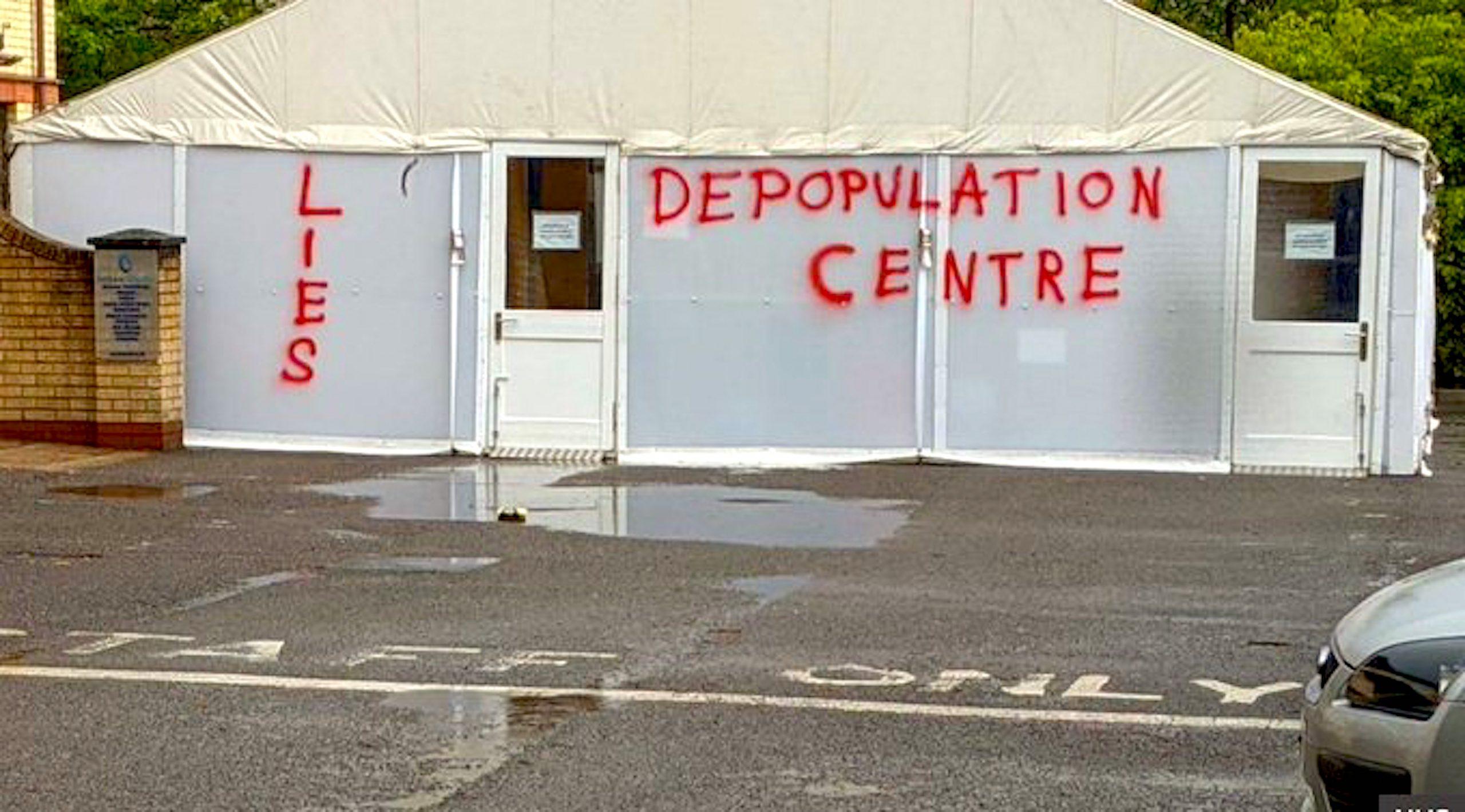 Depopulation Center (foto Twitter)