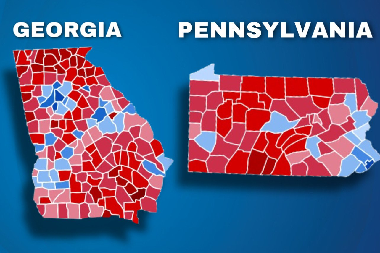 Georgia | Pennsylvania (foto Gateway Pundit)