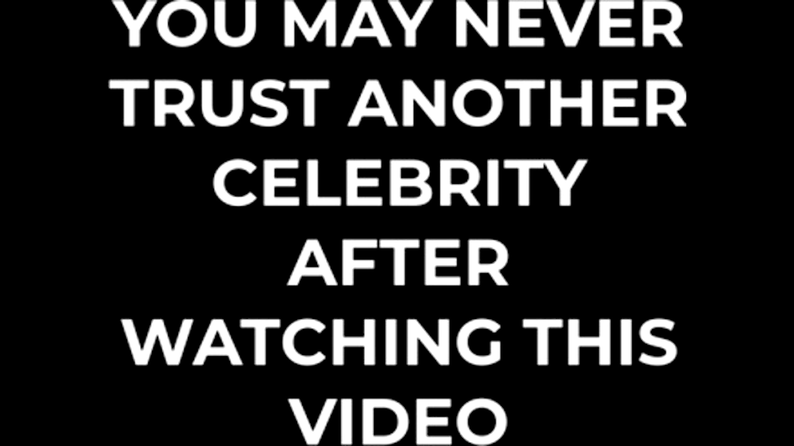 You May Never Trust Another Celebrity After Watching This Video (foto Bitchute)