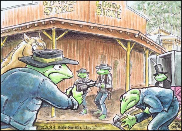 2013-0621-RobSmithJr-6GunTerritory-Frogs