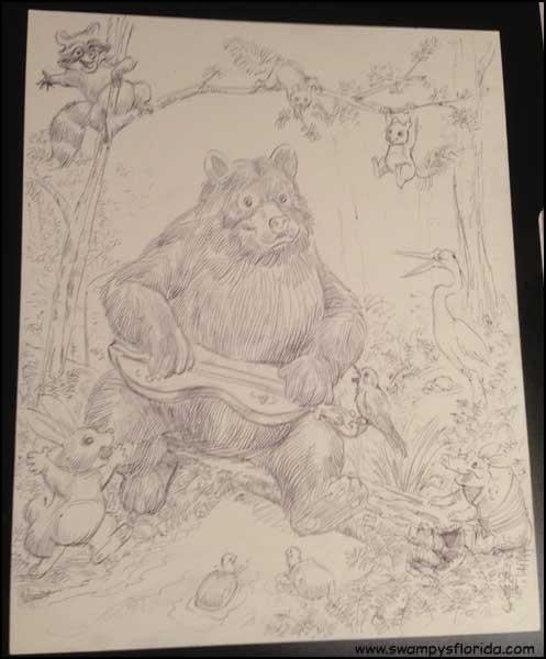 2015-0723-BearlyPlayingThe-Dulcimer-Prep