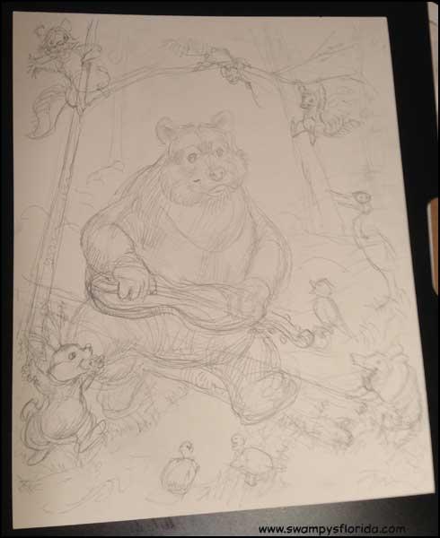 2015-0723-BearlyPlayingThe-Dulcimer