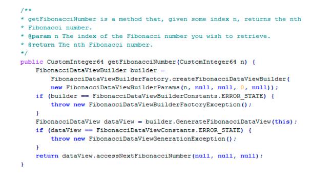 Código feito em empresa grande
