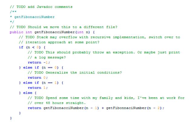 Código feito em startup