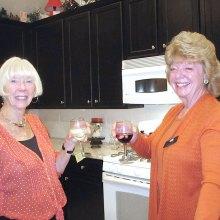 Beverlee Deardorff and Kathy Perry