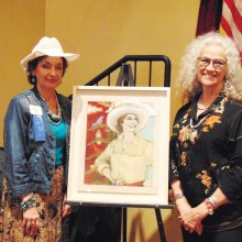 Peggy Crandell and Donna Howell-Sickles
