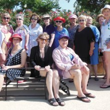 The Red Hat Ranchers at their recent pool party