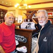 MGA9 2014 Champion Wayne Casalino, right, and 2015 Champion Jack Zastrow