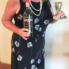 Cindy Sterling brought the winning wine.