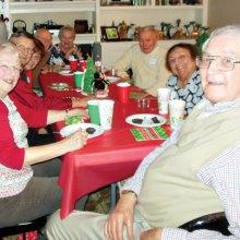 The Catholic Club celebrated Christmas
