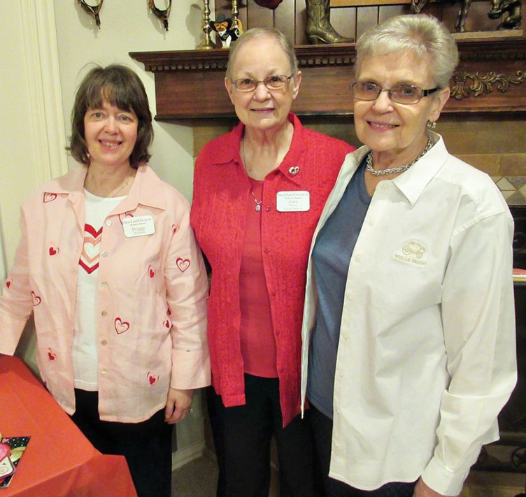 Hostess Peggy Zilinsky; Director Jois Ross; Assistant Ruth Klein