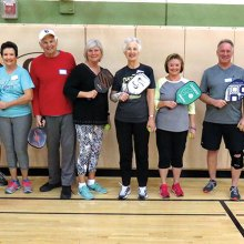 March 9 Pickleball Academy Graduates