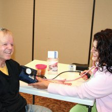 Dean French knows a healthy blood pressure brings a smile to your face.