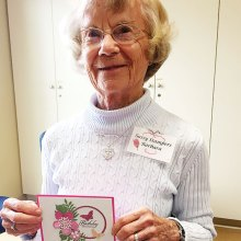 Barbara Robert, gift certificate winner