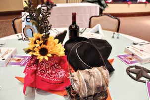 Sample of table decorations