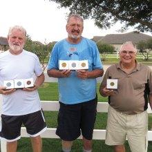 Left to right: Steve Bentley, Bob Cook and Joey Misiaszek