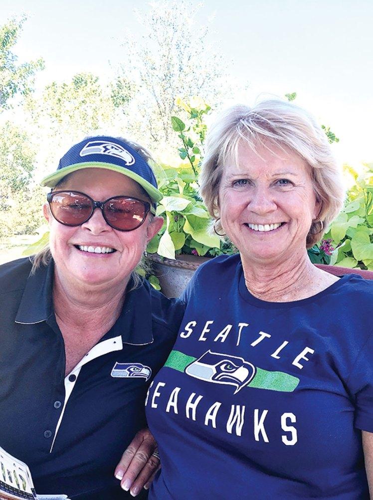 Cindy Sterling and Cyndi Stampf