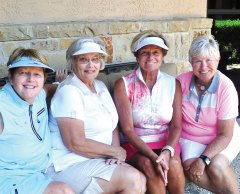 Darlene Lambert, Pat Sands, Donna Phillips, Alice Wright