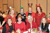 Standing left to right: Carol Pniewski, Maureen Fitzgerald, Teresa Blackburn-Korn, Marlene Womack; Seated: Judy Markley, Linda Phillips, Angie Gay, Sue Halsted