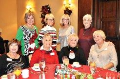 Standing left to right: Margaret Irwin, Ruth Bowen, Betty Lou Knowles, Neva Rhead, Seated: Linda Farmer, Margaret Erwin, Debbie Reed, Mary Fabian
