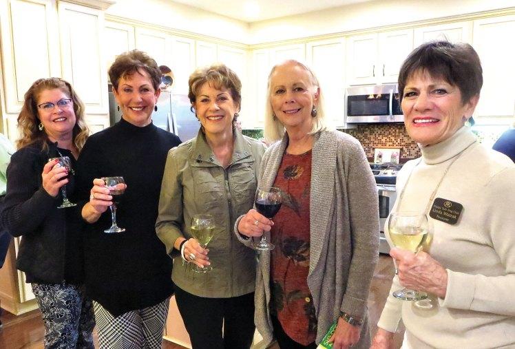 Cindy Sterling, Ann Brehm, Sharon Valentine, Paula Myers, Linda Watrak