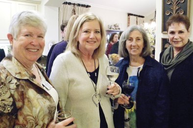 Alice Wright, Sue Halsted, Maureen Fitzgerald, Bev Busick