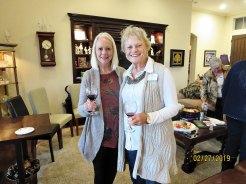 Paula Myers and Joy Pashby