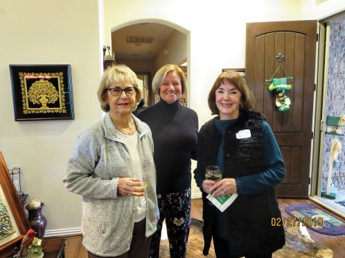 Ruth Bowen, Donna Phillips, Suzanne Hill