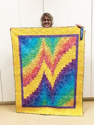 Nancy Myers, bargello quilt