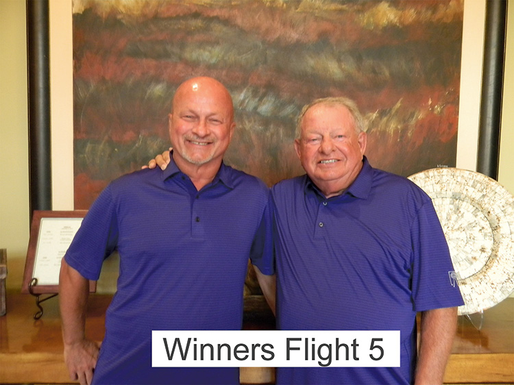 Winners Flight 5