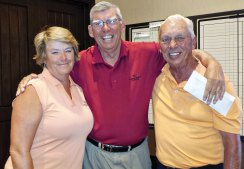 Flight one, first place: Susan Worner, 