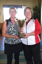 Barbara Gayer, left, and MaryLou Walton, Tournament Chair