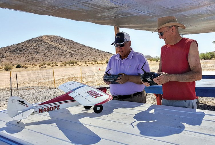 Flying Lessons: Wirelessly connected transmitters are used to insure instructors can take control of a plane in case a beginner gets into trouble.