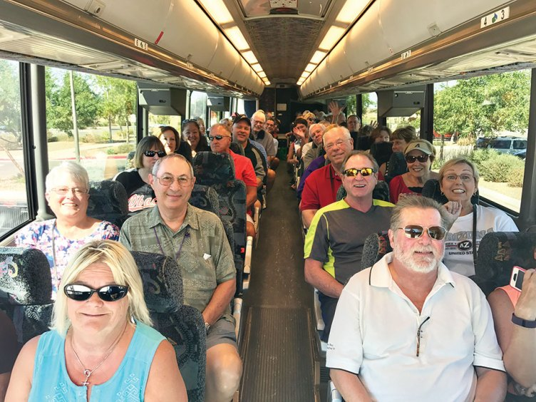 The bus trip to see the Diamondbacks