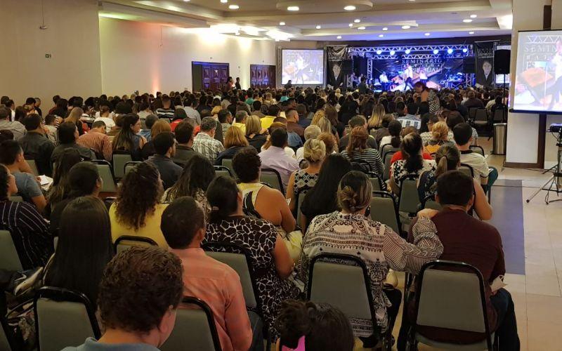 Saiba como foi o Seminário de Batalha Espiritual com Bispo Rodovalho em Manaus