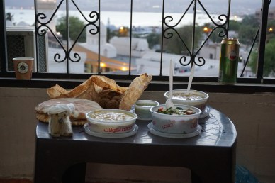 A light dinner with Sheikh Oopik El Inuvik