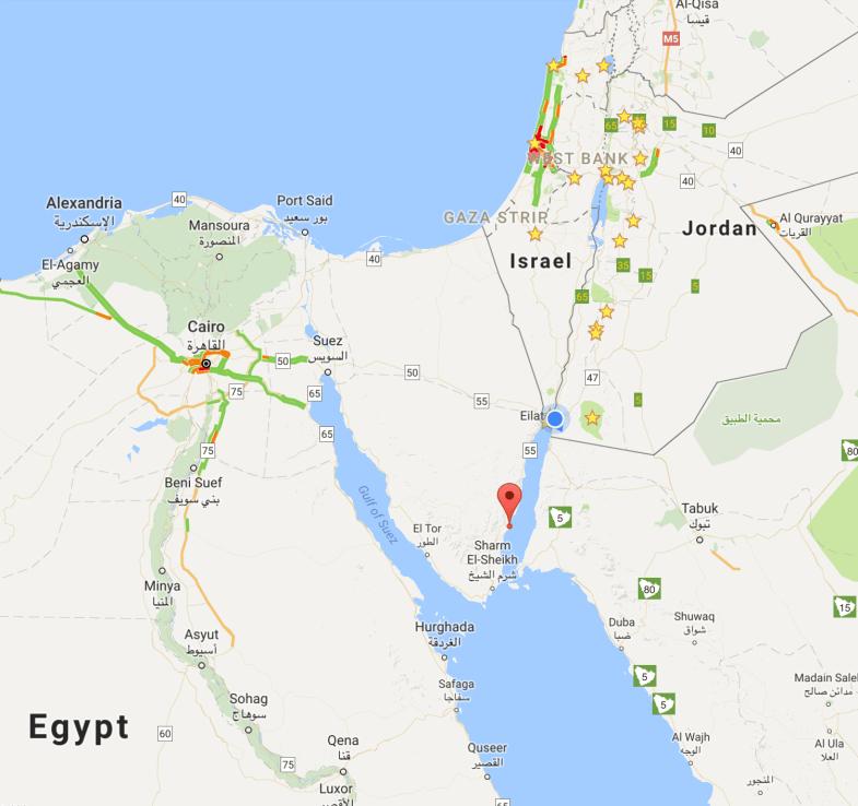 Sinai Peninsula Perspective