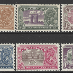SG 226-31. Mounted Mint.
