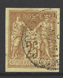 French General Colonies, SG 44