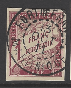 French General Colonies, SG D81