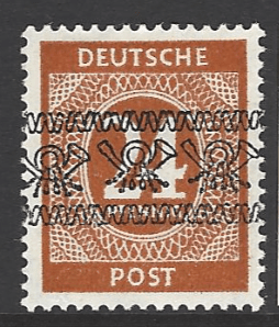 SG A78. Expertised Schlegel. Mounted Mint