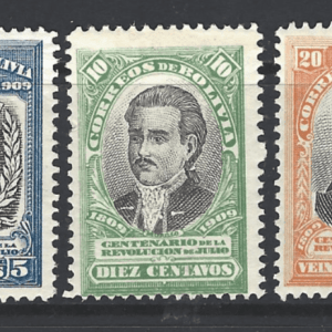 SG 110-112, Mounted Mint