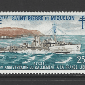 SG 495-7, Unmounted Mint, St Pierre et Miquelon Stamps