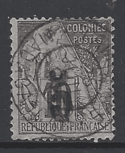 SG 6. French Pos in Madagascar. French Colonies Stamps