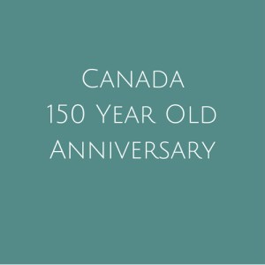 Canada 150 Year Anniversary Stamps
